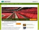 Unisport Läktarsystem på webbplats
