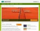 ProCourt Tennisbeläggning på webbplats