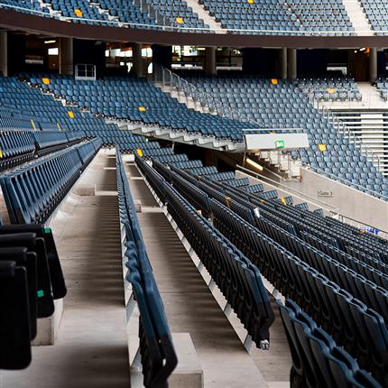 Unisport läktarstolar, Friends Arena, Stockholm