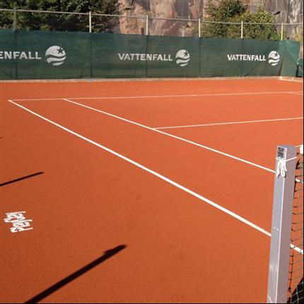 Unisport TopSand/TopClay tennisbeläggning, grus