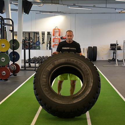Unisport Gym & Fitnessgolv