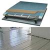 Värmeslingor i golvvärmekassett monterade mellan reglarna i 7000N undergolvsystem