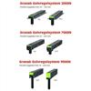 Granabs olika golvregelsystem -  3000N, 7000N och 9000N