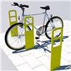 Trafikmiljö cykelpollare Calypso