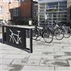 Trafikmiljö cykelparkering Velopark