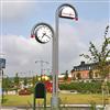 Trafikmiljö klockstapel
