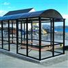 Trafikmiljö väderskydd/vänthall typ Arcus för kustnära placering
