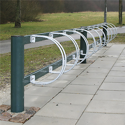 Omni cykelställ och cykelpollare