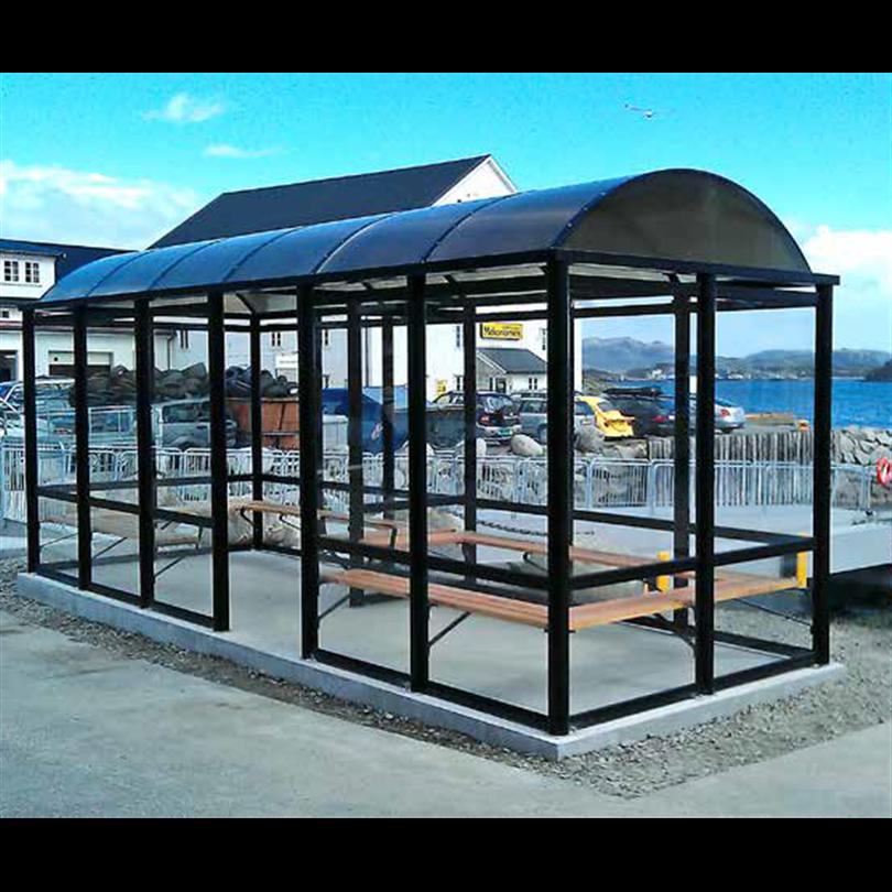 Omni väderskydd/kustnära vänthall Arcus