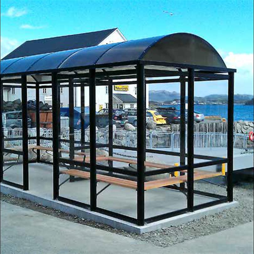 Väderskydd nära kusten, enkelt väderskydd med många möjligheter