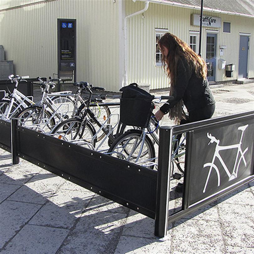 Cykelställ, parkeringsalternativ för cyklar