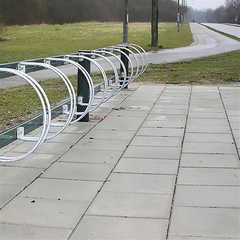 Cykelställ av underhållsfri aluminium