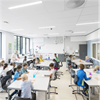 Rockfon Blanka Activity modulundertak i klassrum
