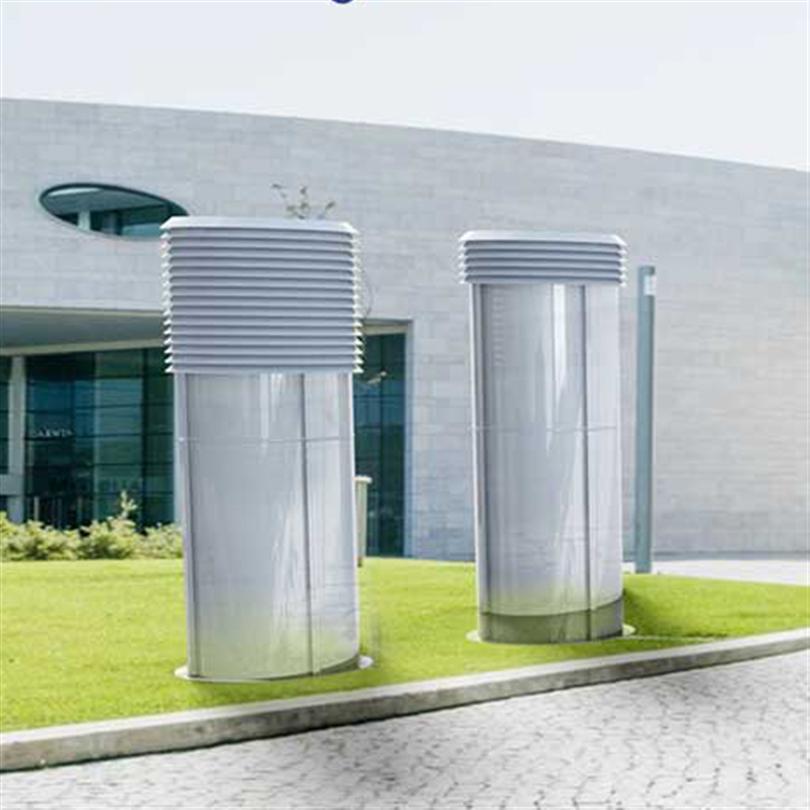 Hallströms Ventilationstorn exterior