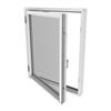 Outline HFS - 3-glas sidhängt träfönster