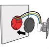 Fire Protect Brandskydd för eldosa/vägguttag