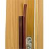 LA karmtätlist 213 cm brun