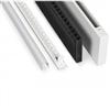 LA träkassetter med dämpare till Omega Max fönsterventiler, detaljer