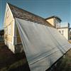 LA väderskydd på hussida