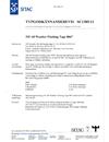 Typgodkännandebevis SC1385-11