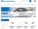 LA butylband på webbplats