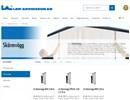 LA skärmväggar på webbplats