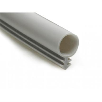 Rund tätningslist av grå silikon