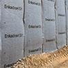 Enkadrain dräneringsmattor för vertikal dränering mot vägg