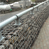 Vector Wall® Gabionsväggar/gabioner med stenlager och integrerat räcke, Jönköbing Energi, Torsvik
