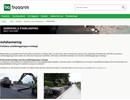 Asfaltarmering på webbplats
