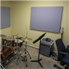 Absoflex Anslagstavla, grå musikrum