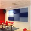 Absoflex Flex och Flex Bas väggabsorbenter, blå vägg