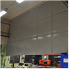 Absoflex Industridraperi, på garage