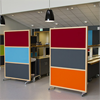 Absoflex Kulörskärmar, kontorsmiljö