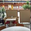 Absoflex Kulörskärmvägg, cafeteria
