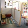 Absoflex Palett bullerdämpande skärmvägg på förskola