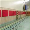 Absoflex Slagtavla väggabsorbent, röda idrottshall
