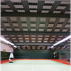 Absoflex Sport ljudabsorbent i tak i tennishall