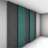 Acqwool Compact Wall frihängande, ljudabsorberande ullväv