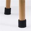 Acqwool Qwaiet Chairsocks möbeltassar på stolsben av trä