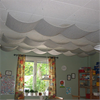 Acqwool Qwaiet Single Ceiling takhängande ullpanel
