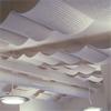 Acqwool Qwaiet Single och Compact Ceiling takhängande ullpaneler