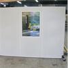 Absoflex Industriskärm skärmvägg med fönster