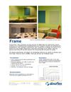 Absoflex Frame väggabsorbent