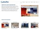 Absoflex Kulörskärm på webbplats