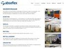 Absoflex skärmväggar på webbplats