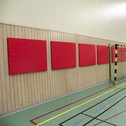 Absoflex Slagtavla, röda idrottshall