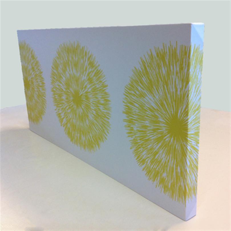 Absoflex Akustiktavla med mönster blomma