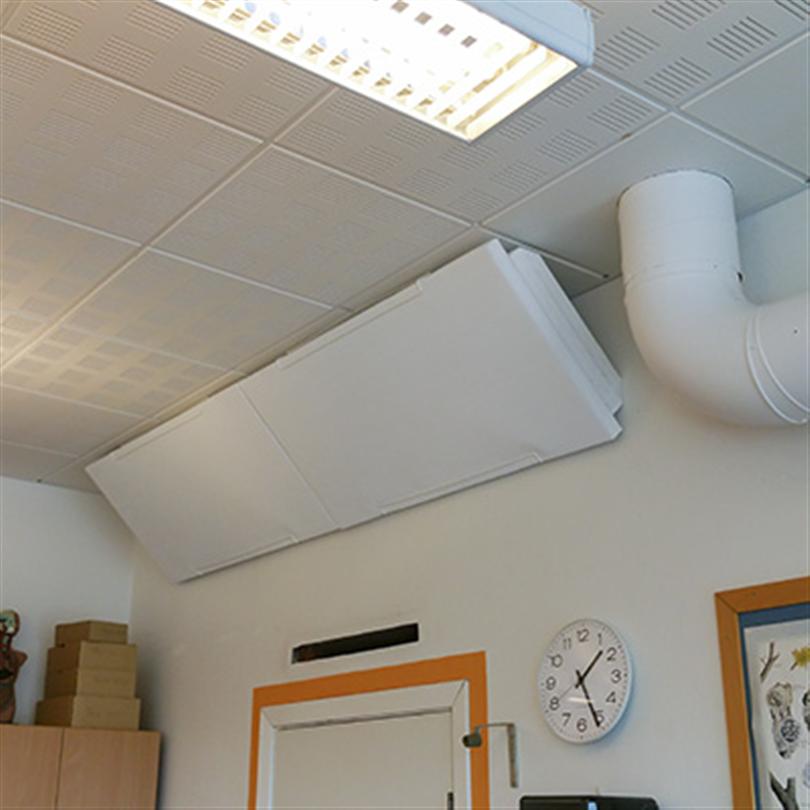 Absoflex Corner, ljuddämpare diagonalt i tak