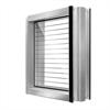 Bullerskärm av aluminium, ljudskyddselement, bullerskyddssystem, ljudabsorption, ljudskyddssystem